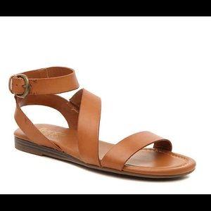 """Franco Sarto """"Gustar"""" Sandals in Cognac"""